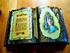 The Lord's Prayer Decorative Table Plaque **REDUCED**
