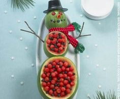 cute idea for fruit salad at christmas party christmas snacks christmas fruit ideas christmas