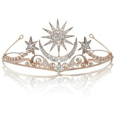 A diamond tiara-brooch-ring combination, circa 1900 ❤ liked on Polyvore featuring jewelry, rings, crowns, head, tiara, crown ring, diamond jewelry, diamond crown ring, diamond rings and diamond jewellery