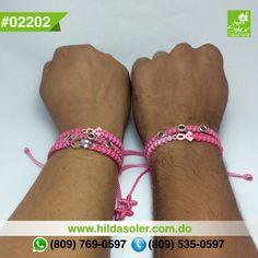 OCTUBRE mes internacional del Cancer  ÚNETE ..... Pulseritas solidarias .... RD $100 pesos