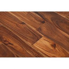 Wood+ Flooring Solid Deluxe Tropical Acacia Asian Walnut 18x93mm Lacquered Real Wood Flooring - Massive Range of Solid Real Wood Flooring, In Stock For Next Day Delivery, Buy Today For The Lowest Possible Prices Anywhere, Massive Range of Solid & Engineered Real Wood at www.leaderstores.co.uk
