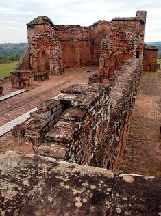 Ruins of a Cathedral at Trinidad, Itapua in Paraguay | © Augusto TRM, via trekearth | Trinidad is one of 30 Indian Reductions that were settled by Spanish Crown and Catholic Church during XVII century.