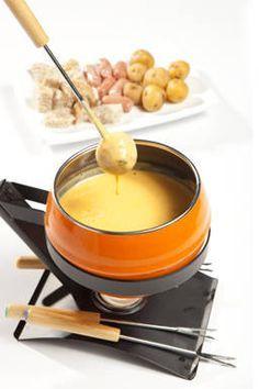 Fondue de queso cheddar con cerveza - Recetas