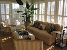 sunroom decorating ideas | Builder Grade to Designer Beautiful: Heidi Johnston's Design Style