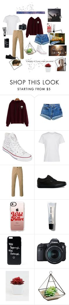 """""""In that moment, I swear we were infinite 💗"""" by mystical-dimples ❤ liked on Polyvore featuring WithChic, Converse, La Perla, PS Paul Smith, Vans, Casetify, Too Late, Bobbi Brown Cosmetics, Eos and Ankit"""