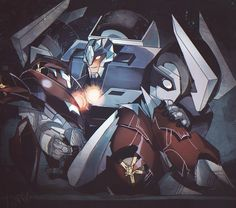 ♡ On Pinterest @ kitkatlovekesha ♡ ♡ Pin: TV Show ~ Transformers Prime ~ Knock Out x Breakdown ♡