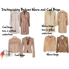 how to pick a warm or cool beige by imogenl on Polyvore featuring Valentino, Balmain, Topshop, Ted Baker, Elisabetta Franchi, M&S Collection and Violeta by Mango