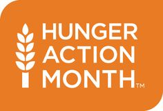 September is Hunger Action Month, when Feeding America and its network of food banks Go Orange for hunger. Find out how you can Go Orange and take action against hunger.