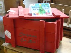 Afternoon all, as everyone gets down to their Christmas shopping and enjoying Black Friday sales, how about something a little more unique for the kids on Christmas Eve, we've been making a lot of these colourful boxes which can be personalised with your child's name on and a message, get your orders in now at £39.