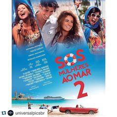#Repost @universalpicsbr  Olha que demais o cartaz de #SOS2  Preparem-se para embarcar na comédia em 22 de outubro! by cineart_oficial