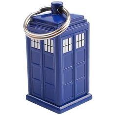 Doctor Who TARDIS Keychain Emergency Fund Cash Stash and Money Holder