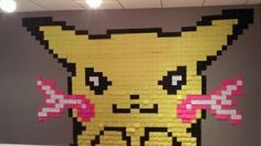 30 Awesomely Creative Artworks Made Of Post-It Notes