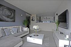Salon gris blanc Idées déco Pinterest Decoration Salon Moderne Gris Salon Gris and Salons