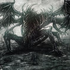 Dark Souls - Gaping Dragon creepiest looking boss