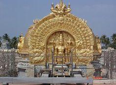Srirangam: Srirangam is the foremost of the eight self-manifested shrines (Swayam Vyakta Kshetras) of Lord Vishnu . It is also considered the first, foremost and the most important of the 108 main Vishnu temples (Divyadesams).