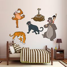 The Jungle Book Collection REAL.BIG. Fathead – Peel & Stick Wall Graphic | The Jungle Book Wall Decal | Disney Decor
