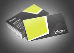 Blazer Business Card ~~ Blazer: Elegant, Professional and Unlimited  Blazer is a clean and beauty Business Card template made with care and attention to build up a professional look and help your business be recognized and even more successful.