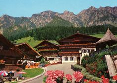"""SKIING. Thanks to its homogeneous architectural style and lovely floral decorations Alpbachtal was voted """"Austria's most beautiful village"""" in 1983."""