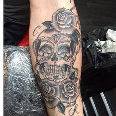 Sugar+Skull+Tattoos