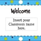 Blue, Green, White Themed Back To School Open House PowerPoint Template  Keep the attention of all your parents with this Open House Template. Each...