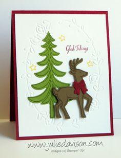 Santa's Sleigh Glad Tidings Christmas Card