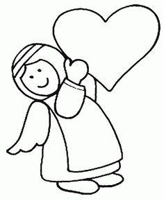 desenhos de carinhas de anjos - Pesquisa Google
