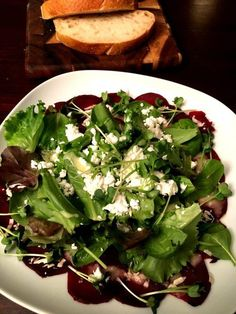 Friday Night Dinner Date: Wintersalat mit Roter Bete und Meerrettich