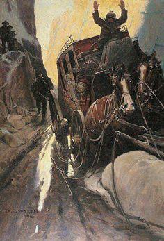 American artist and illustrator Newell Convers Wyeth Westerns, Nc Wyeth, Andrew Wyeth, Jamie Wyeth, Cowboy Art, Le Far West, Western Art, Old West, American Artists