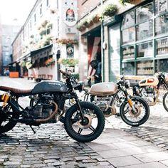 honda cx500 street scramblerpacific motorcycle | cafe racers