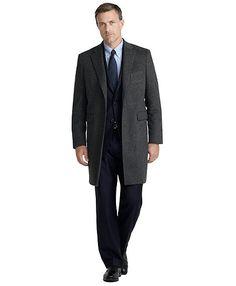 Wool Mason Top Coat - Brooks Brothers