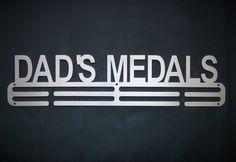 Medal Hanger - Dad's Medals by SA Medal Hangers - Premier Medal Hanger designers