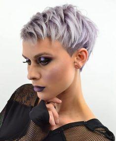 Undercut Pixie Haircut, Pixie Haircut Styles, Pixie Haircut For Thick Hair, Blonde Bob Haircut, Short Thin Hair, Haircut For Older Women, Very Short Hair, Short Pixie Haircuts, Short Hair Cuts