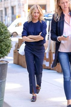 Sienna Miller Sports Gucci in NYC
