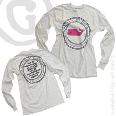 ALPHA XI DELTA CUSTOM GROUP ORDER VINEYARD VINES LONG SLEEVE!!