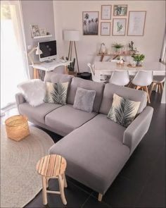 45 amazing gorgeous living room color schemes to make your room cozy 8 – Home De… - Modern Home Living Room, Interior Design Living Room, Living Room Designs, Living Room Decor, Living Room With Carpet, Living Room Photos, Kitchen Interior, Living Room Color Schemes, Living Room Colors