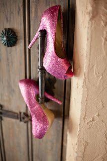 The Busy Broad: DIY Glitter Heels