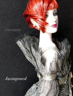 About Juxtaposed: Hypnotic Antoinette tries a new hairstyle. Fashion is