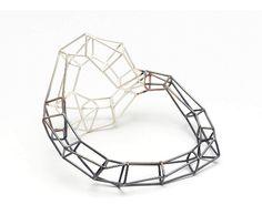Carlier Makigawa - Bracelet - Silver, partly oxidized