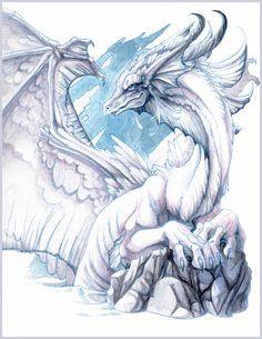 Sea Dragon by hibbary.deviantart.com on @deviantART
