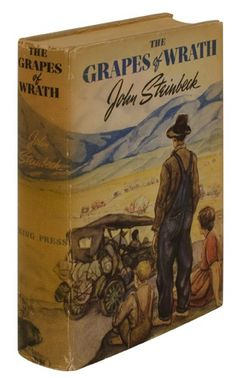 First Edition The Grapes of Wrath by John Steinbeck