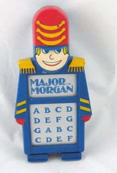 Major Morgan - can't for the life of me remember what this did but I know my friend loved hers :-D 1980s Childhood, My Childhood Memories, Best Memories, 1980s Toys, Retro Toys, Vintage Toys, Vintage Sweets, Vintage Art, Musical Toys