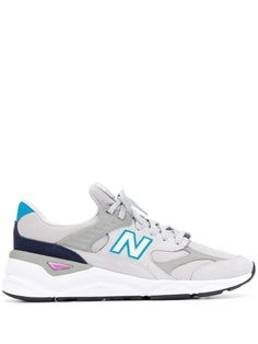 456ff462b2a NEW BALANCE NEW BALANCE PANELLED SNEAKERS - GREY.  newbalance  shoes