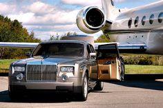 Billionaire lifestyle - Boss transportation (rolls royce & private jet), certified bossluxury