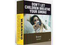 Embalagens de cigarro sem apelo á saúde. O que acham dessa novidade?