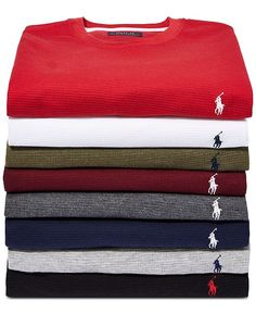 8416b1a5be0471 Polo Ralph Lauren Men Waffle-Knit Thermal
