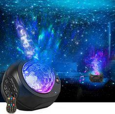 Star Night Light, Stars At Night, Night Lights, Night Light Projector, Projector Lamp, Projector In Bedroom, Game Room Lighting, Galaxy Bedroom, Galaxy Lights