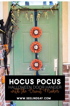 Use your Cricut Maker to create this Hocus Pocus decoration. Perfect for Halloween and any front porch to make the Sanderson Sisters feel welcome. Making Halloween Hocus Pocus crafts can be easy when you have the right tools. Halloween Banner, Halloween Porch, Halloween Crafts For Kids, Halloween Projects, Diy Halloween Decorations, Halloween 2019, Halloween Ideas, Holiday Crafts, Easy Craft Projects