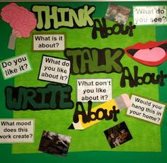 Art With Mr. E: Art Room Bulletin Boards & Displays 2011 : Part 2