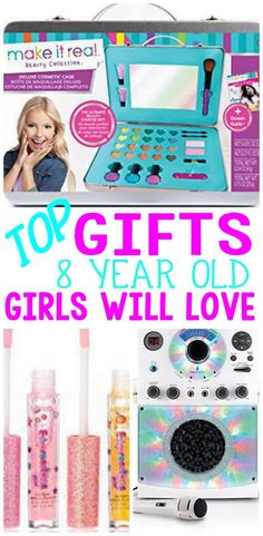 Top Gifts 8 Year Old Girls - Looking for the ultimate gift for that sometimes hard to shop for 8 year old girl? Arts And Crafts For Teens, Art And Craft Videos, Arts And Crafts House, Easy Arts And Crafts, Crafts For Girls, Diy For Girls, Fun Crafts, Birthday Gifts For Girls, 8th Birthday