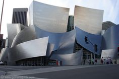 Disney Concert Hall. Daring design and magnificent!